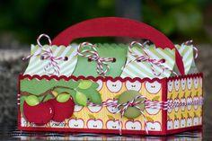 M. Miranda Creations: A Caddy of Apples!