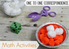 One to One Correspondence Pumpkin Pie Counting Activity. Thanksgiving Math Activities for Preschool and Kindergarten. Hands On Activities to Help Kids in Preschool and Kindergarten Develop Number Sense.  Learn How to Count the FUN Way!
