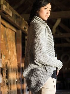 Rimrock Cardigan Knit Pattern