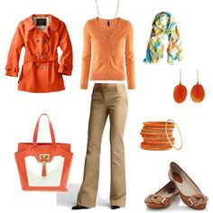 """I love peach"" by willowtree24 on Polyvore"
