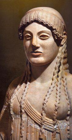 Kore daughter of Demeter and Zeus.