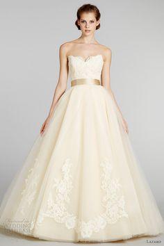 Lazaro Fall 2012 Wedding Dresses | Wedding Inspirasi