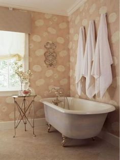Pretty in pink bathroom design