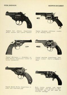 1948 Print Revolvers Iver Johnson Hopkins Allen Harrington Richardson Webley