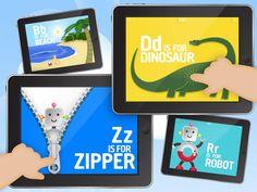 alphabet app, card app, alphabet games, abc flash, interact alphabet, cards, flash card, abc preschool, kid