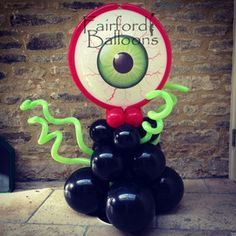 Halloween Balloons by Fairford Balloons, www.fairfordballoons.co.uk Halloween decoration, halloween ideas, halloween party