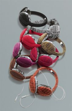 Tech Obsessed: U|R Tech Earmuffs #Nordstrom #Holiday
