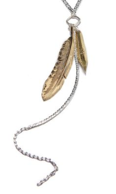 Braves Feather Necklace