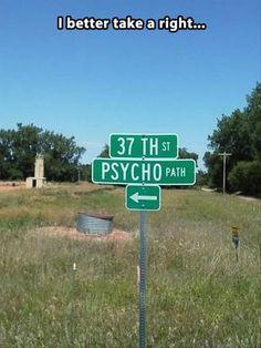 Right Off of Insane Lane