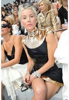 """""""I don't dress for effect, and I think that it never works out when someone does"""" -Daphne Guinness"""