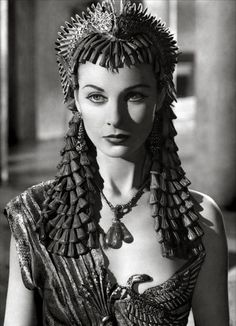 Vivien Leigh as Cleopatra, 1945