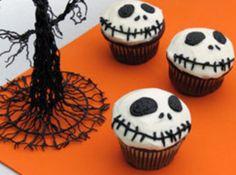 Jack Skellington Cupcakes - Nightmare Before Christmas