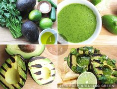 4 easy steps to a grilled avocado hors d'oeuvre #recipe