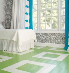 Stenciled Floors: The Best of Today's Designs - Bob Vila