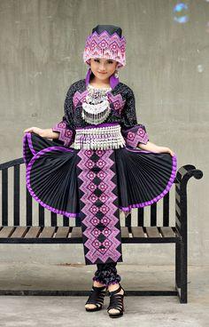 Hmong clothes design hmong clothing purple