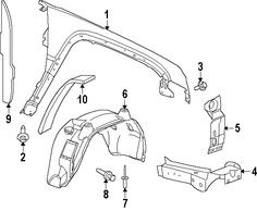 jeep wrangler jk front axle diagram  jeep  free engine