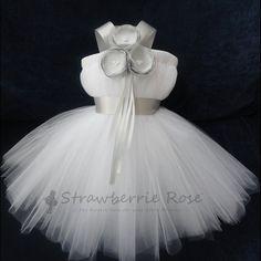 Flower Girl Dress Tutu...oh my goodness. So cute!