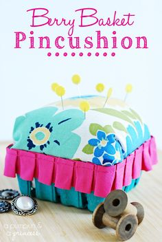 DIY pincushion tutorial