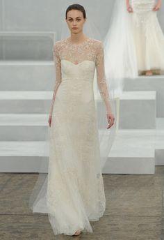 ¡Love it! Monique Lhuillier (PV 2015) #weddingdresses #vestidodenovia #NYBW