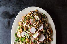 Whole Grain Salads: Radish and Grain Pecan Salad | @Food52