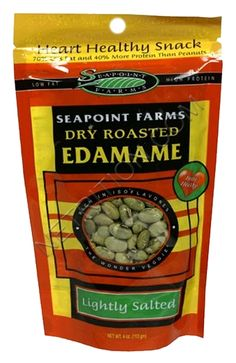 Seapoint Farms Dry Roasted Edamame snack