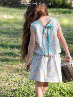 Patron de couture pour fille, Modèle Estivale, Robe