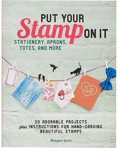 Learn how to stamp anything with this book! Get it here: http://www.bhg.com/shop/paper-source-put-your-stamp-on-it-p517e956ae4b041d621c559ef.html?mz=a
