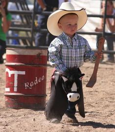 Little rodeo dude
