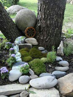 Painted rocks