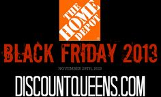 Home Depot Black Friday Ad 2013!
