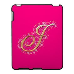 Pink Mousepad with Initial J