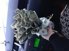 Money bouquet!