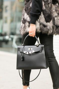 autumn outfits, fashion, purs, hermes bags, city chic