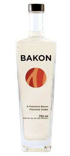 Bacon-flavored Vodka