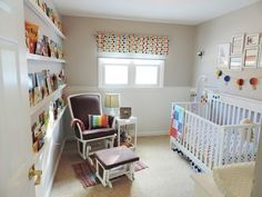 Project Nursery - Colorful Baby Nursery