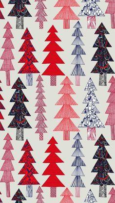 """#Marimekko """"spruce"""" fabric."""
