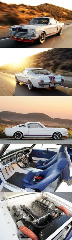Just amazing. One of the Nicest Mustangs i have ever seen...Pure Vision Design's Martini Racing 1966 Ford Mustang T-5R