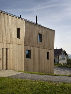 House for Two Families in Maracon, Switzerland / LOCALARCHITECTURE