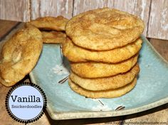 FoodThoughtsOfaChefWannabe: Vanilla Snickerdoodles