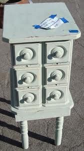 Old sewing machine drawers makeovers
