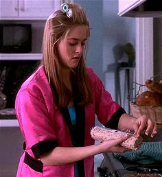 Whenever a boy comes, you should always have something baking. | 22 Life Lessons From Cher Horowitz