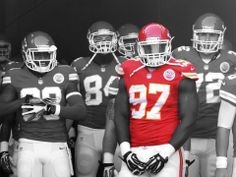 "ALLEN BAILEY:Defensive End #97 for Kansas City Chiefs! Allen made his NFL debut in 2011 and had the third-highest vertical jump of any defensive lineman at 36.5"". Prior to being drafted to the NFL, Allen played for the University of Miami. ""I choose energy bits because it gives me an edge over my opponents."" #poweredbybits"