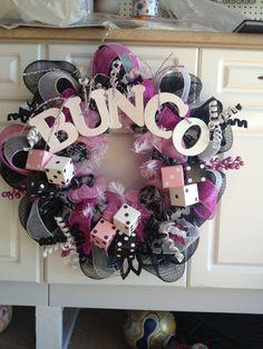 Bunco wreath... gotta make it!