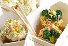 chinese takeout cupcakes