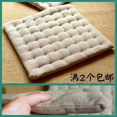 100% cotton dining chair pad chair mat cloth tatami mat floor cushion japanese style cushion $17.55