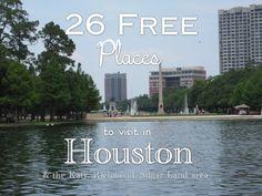 FREE Things to do in Houston/ Richmond/ Katy/ Sugar Land