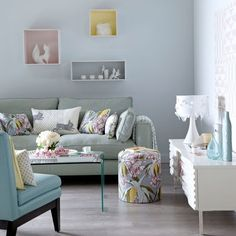 soothing living room