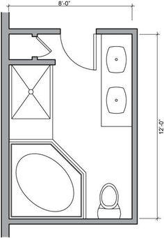 Master Layout Small Bathroom Floor Plans Bathroom Floor Plan Design