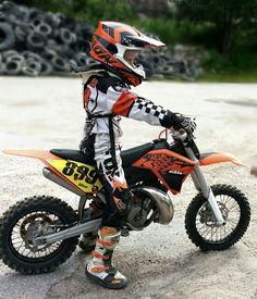 Daniel 10 yr. #ktm #fox #scorpion #dirtbike #rider #motocross #norway