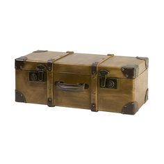 Travel Trunk Wall Shelf - Brown